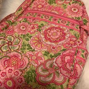 Pink + green floral Vera Bradley mini backpack!
